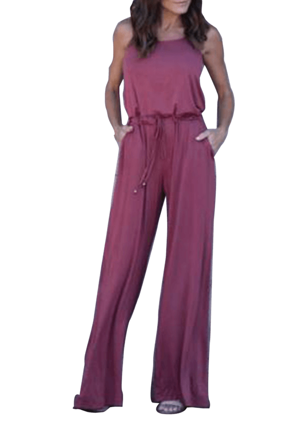 Gathered Jumpsuit