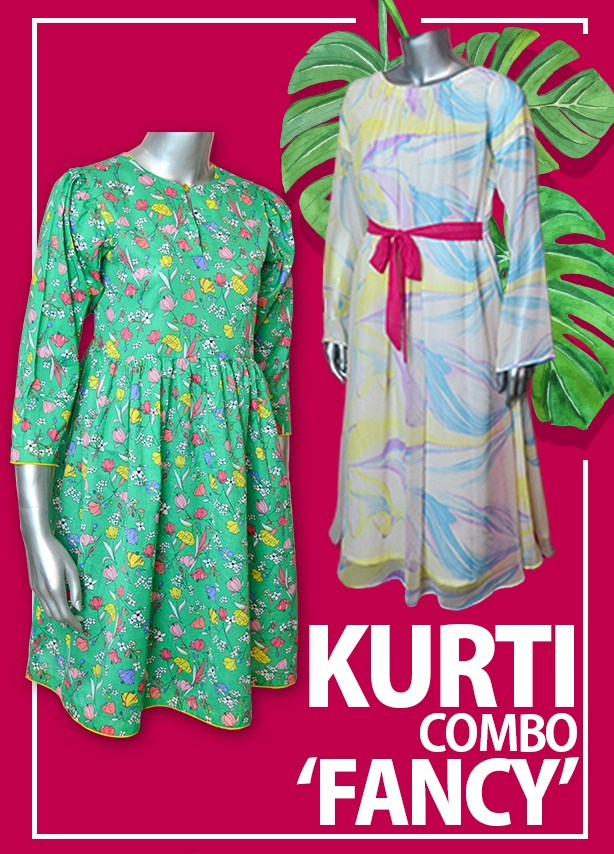 Kurti Combo Deal - Fancy