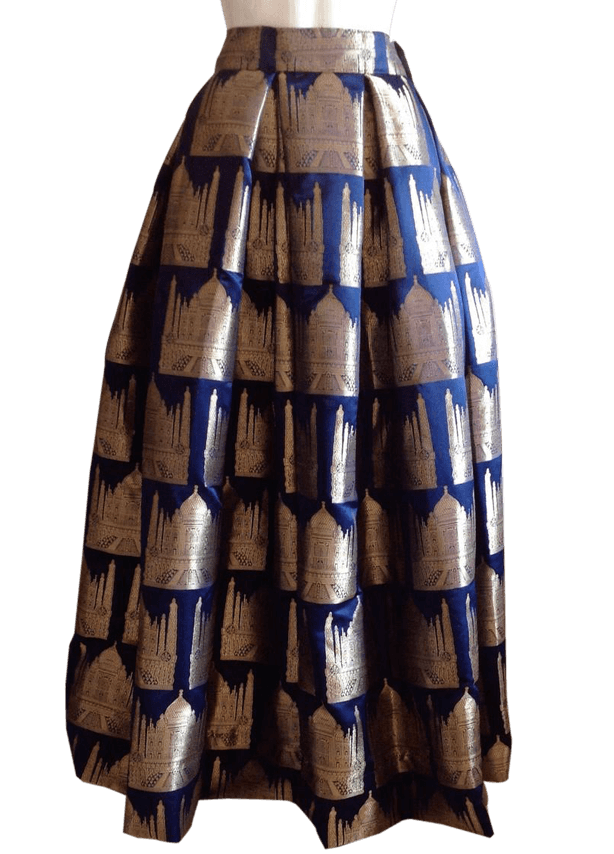 Lightly Pleated Gharara