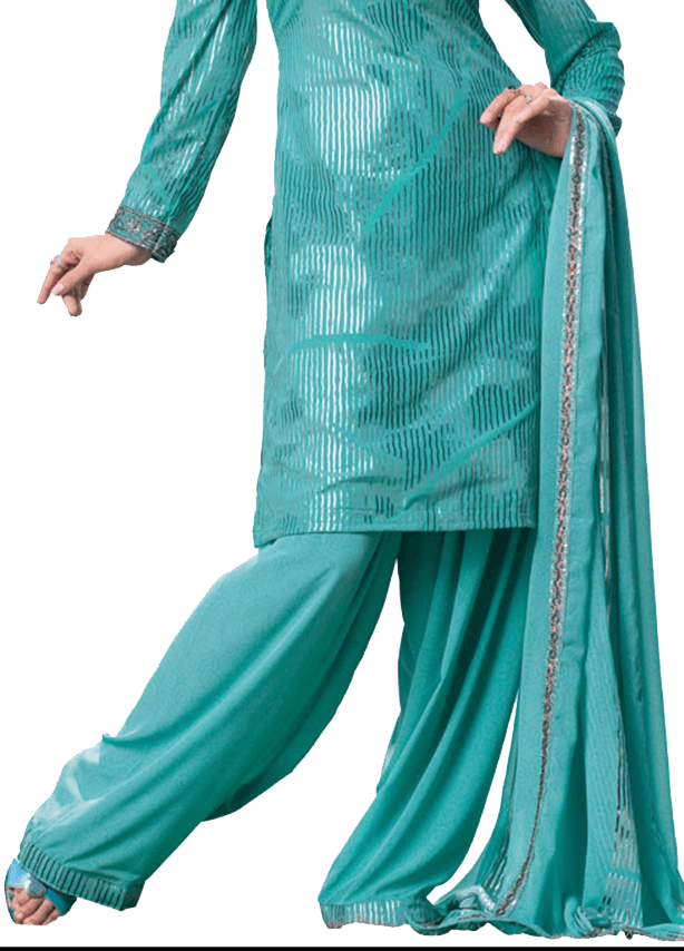 Lightly Pleated Shalwar