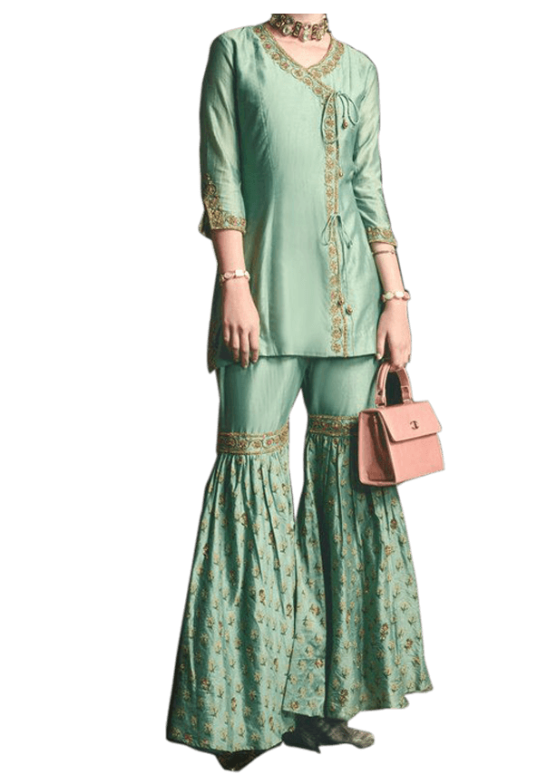 Lightly Pleated Sharara