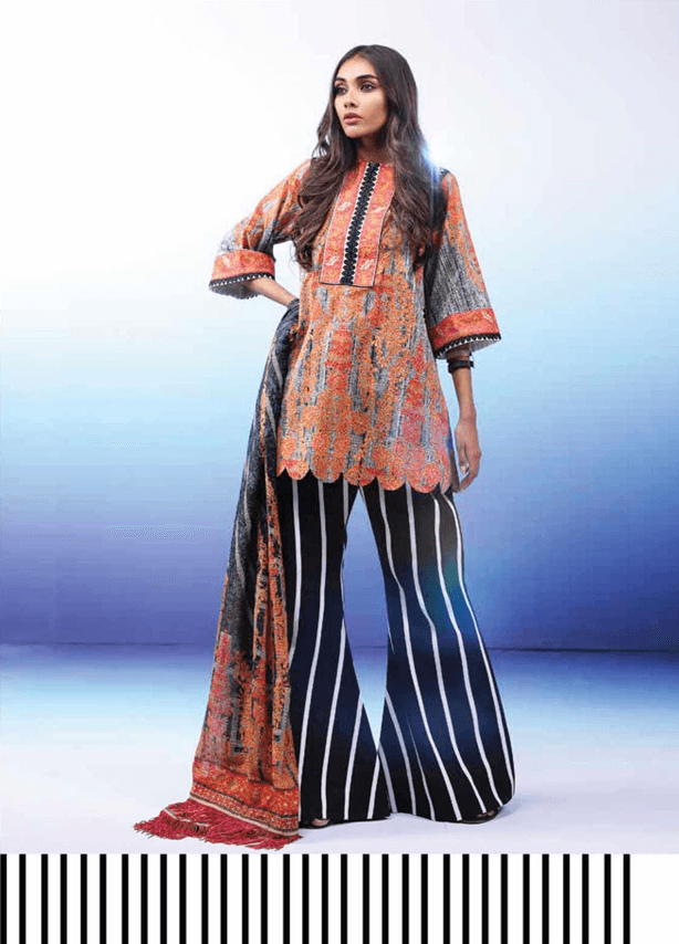 Printed Lawn Suit (2 Piece)