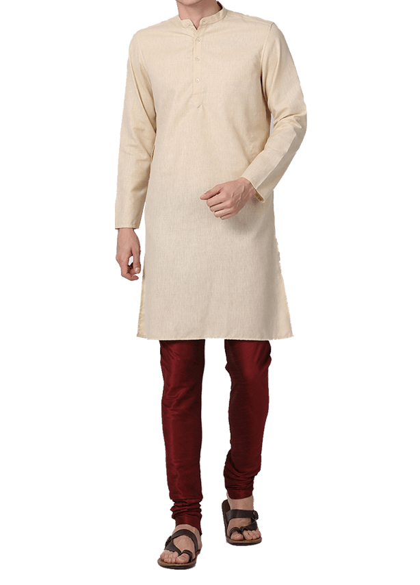 Small Mandarin Collar Kurta