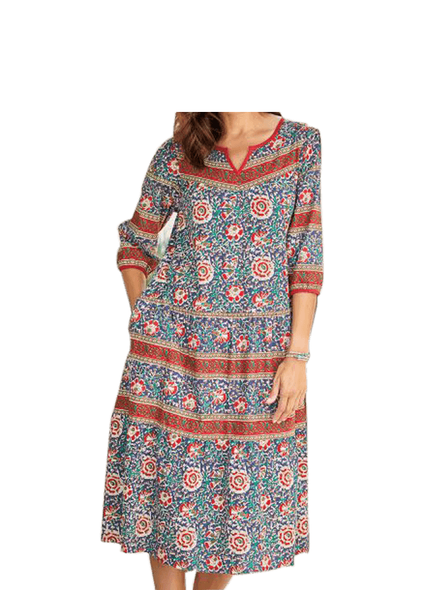 Tea-length Kaftan